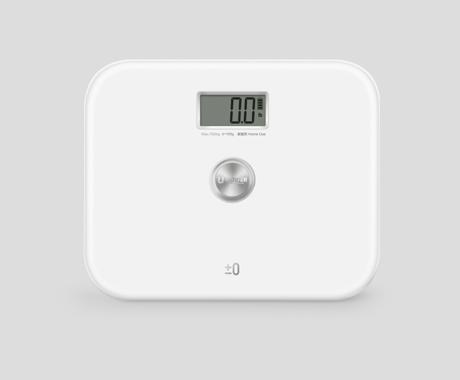 自发电人体秤YHB1710
