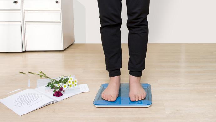 体重秤连续称体重都不一样?